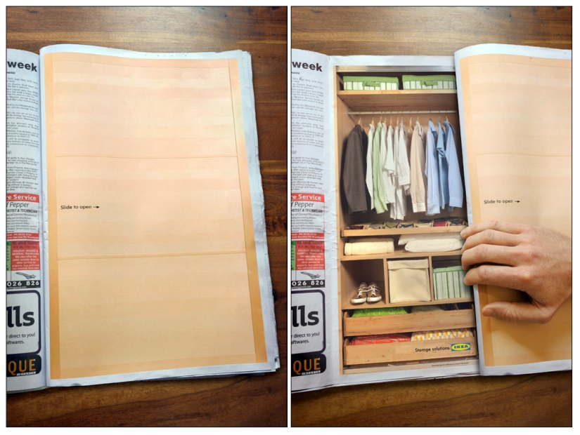 Creative Interactive Magazine Ads