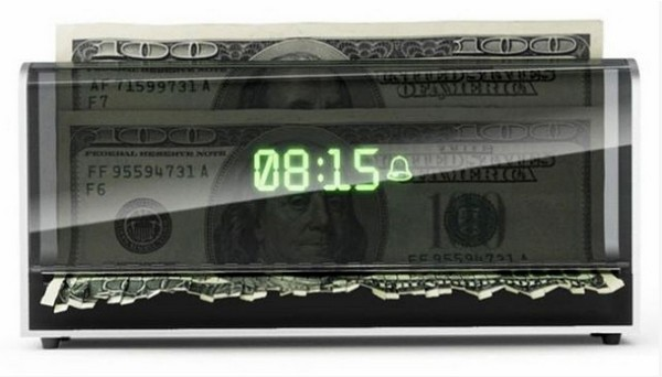 The Money Shredding Alarm Clock