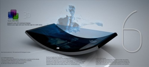 Futuristic Phone Designs