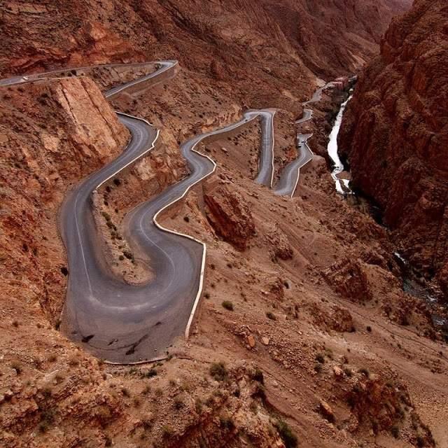 Dades Gorge-Morocco