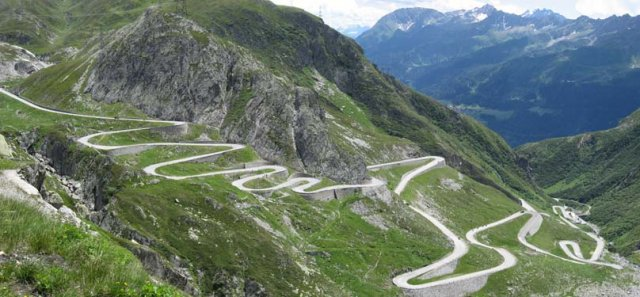 Saint Gothard Pass-Switzerland