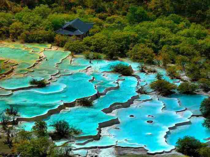 1-turquoise pools China
