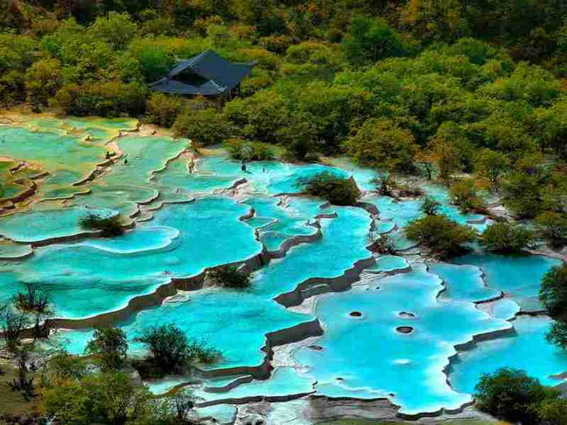 1-turquoise pools China