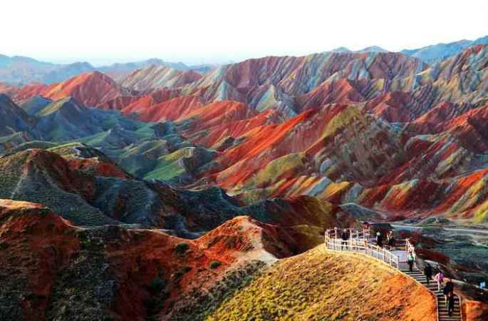 11-colorful- mountains-china