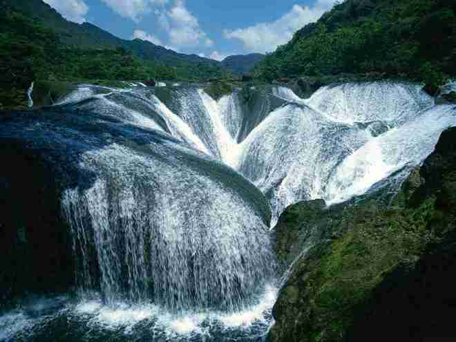 6-waterfall China