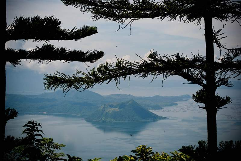 Vulcan Point: An Island Within A Lake On A Volcano Within